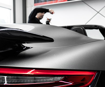 Premium Car Wrapping – Porsche 911 Turbo S