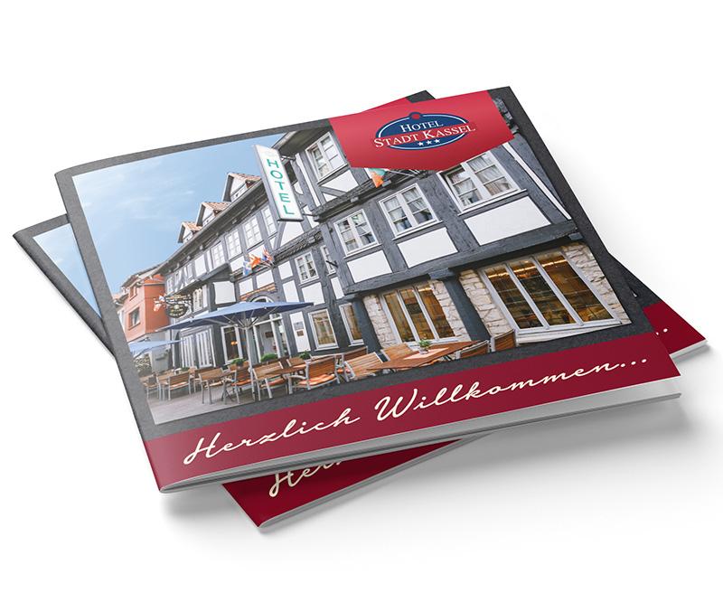 """Hausbroschüre """"Hotel Stadt Kassel"""""""