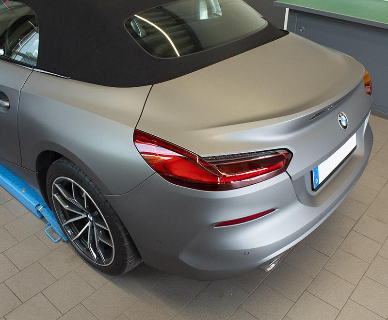 Vollfolierung – BMW Z4