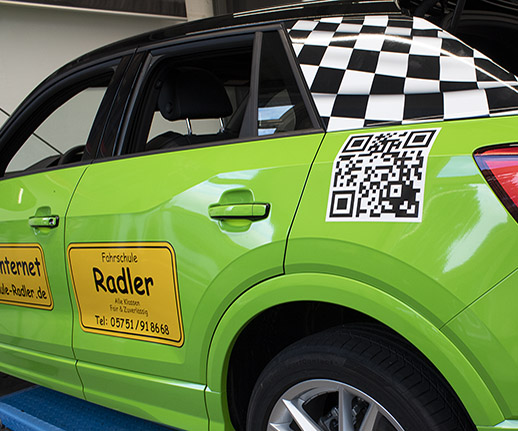 Neue Fahrzeuge für Fahrschule Radler