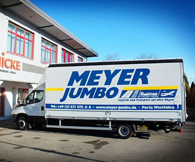 Meyer Jumbo – Flottenbeschriftung