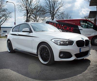 BMW 1er – Dekorstreifen